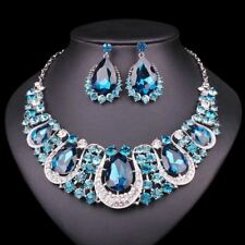 Jewellery Crystal Necklace & Earrings set Bridal Jewellery Sets
