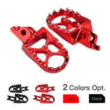 57mm WIDE Foot Pegs Footrest for Honda CRF250 Rally CRF 250R 250L 250X 450R 450X