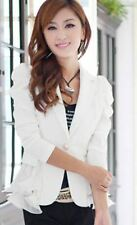 Candy Color Polyester Material Long Sleeve Solid Casual Women Blazer