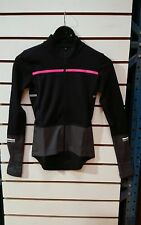 chapeau thermal ladies cycling jersey black and pink size XS