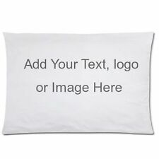 "Custom Personalized Pillow Case 20""x30""/16""X24"" one side/two side"