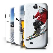 STUFF4 Back Case/Cover/Skin for Samsung Galaxy W/I8150/Skiing/Snowboarding