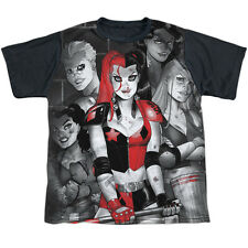 BATMAN HARLEY QUINN BAD GIRLS Kids Boys Girls Licensed Tee Shirt SM-XL SZ 6-20