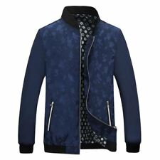New Arrival Stand Collar Slim Fit Casual Style 4 Solid Color Jacket for Men