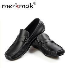 Mens Soft Breathable Casual Men Loafers Slip On Classic Moccasins Driving Shoes
