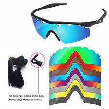 Nose Piece +Polarized Replacement Lenses For-Oakley M Frame Strike Vented-Option