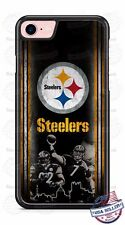 Pittsburgh Steelers Black and Gold Phone Case Cover for iPhone 6s Samsung s7 HTC