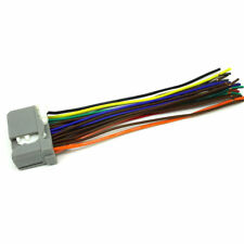 HONDA CAR STEREO CD PLAYER WIRING HARNESS WIRE AFTERMARKET RADIO INSTALL