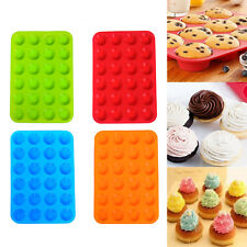 Silicone Donut Muffin Chocolate Cookie Cake Candy Cupcake Baking Mold Mould Pan