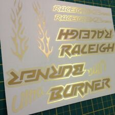 Mk1 Raleigh Burner Style Old School BMX Stickers/Decals *MULTIPLE CHOICE*