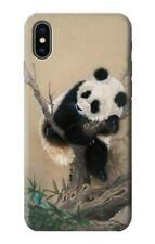 S2210 Panda Fluffy Art Painting Case for IPHONE Samsung Smartphone ETC