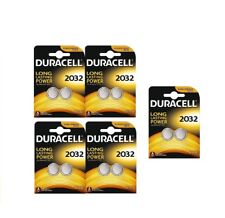 10xDuracell 2032 3V Lithium Coin Cell Batteries CR2032 DL2032 Battery