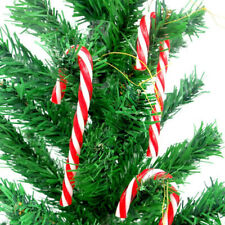 New 12Pcs Christmas Tree Candy Cane Hanging Ornament Home Xmas Party Decoration