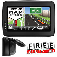 Portable GPS Navigation Device Touchscreen System Auto Driver Car Road Navigator