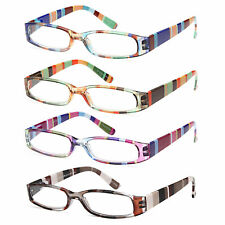 GAMMA RAY 3 Pairs Women's Designer Reading Glasses Readers w/ Magnification
