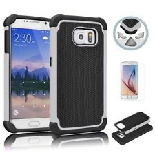 Shockproof Hybrid Rugged Rubber Hard Case Cover For Samsung Galaxy S6 / S6 Edge