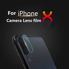 7.5H Rear Back Camera Lens Slim Tempered Glass Protector Film For Apple iPhone X
