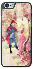 Disney Princess Aurora and Phillip Love Phone Case Cover for iPhone 7 Samsung