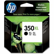 GENUINE HP 350XL BLACK INK CARTRIDGE CB336EE CB336E D5345 D5360 D5363 350 XL 350