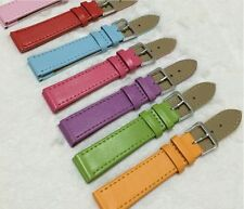 12-24 mm Womens PU  Leather Watch Band Strap in All Colors and All Sizes