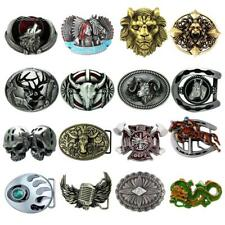 Men's Cool Rodeo Cowboy Western Belt Buckle Metal Horseshoe Deer Gürtelschnalle