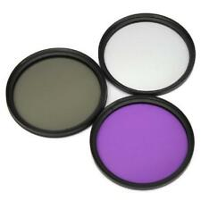 High Quality 3 in 1 FLD+UV+CPL Lens Filters Set Protector Filter for Camera
