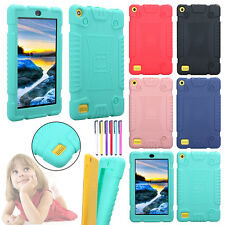 Anti-Shock Rubber Soft Case Tablet Shell Cover Skin For 7''Amazon Kindle Fire 7
