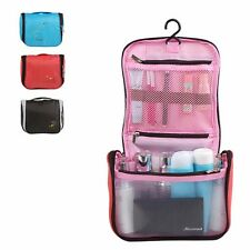 Travel Portable Make Up Bag Case Storage Pouch Organizer Toiletry Wash Holder #A