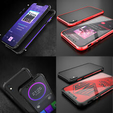 BOBYT Aluminum Metal Bumper Frame Protective Thin Case Cover Skin for iPhone X