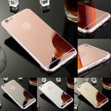 Mirror Cover Ultra Slim Rubber Back Shockproof Case For Apple iPhone 8 8 Plus