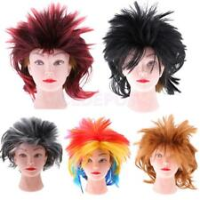 Adults Women Wild Punk Rock Wig Spiky 1980's Accessory Party Cosplay Costume Wig