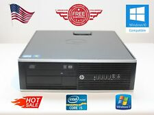 HP PC Desktop Computer Intel Core i5-3570@3.4GHz/4-8GB/250-2000/Windows 7 Pro
