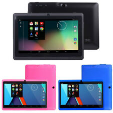 "HD 7"" Google Android 4.4 Quad Core Tablet PC 1GB 8GB Dual Camera Wifi BT"