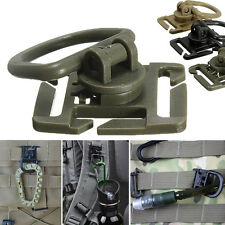 2/5x Molle Strap Backpack Bag Webbing Connecting Buckle Clip EDC Outdoor Tool BH