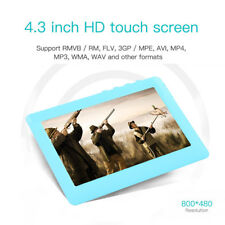 8GB 4.3 inch Touch Screen MP3 MP4 MP5 Player Video FM Radio Support TF Card