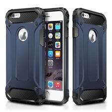 Luxury Heavy Duty Armor Hybrid Shockproof Hard Case Cover For iPhone 8 X 6s 7+