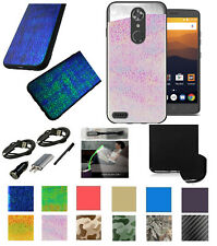 "for 6"" ZTE Zmax Pro ZTE CARRY Case Hologram Shock Bump Corner Edge Slim Cover +"
