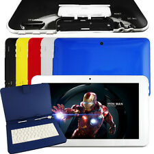 """9"""" Tablet Android 4.1 8GB A9 Quad core Camera Capacitive WIFI Google Red White"""
