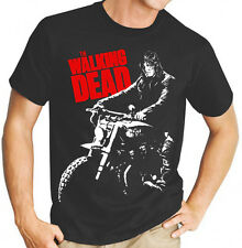 AMC's The Walking Dead Daryl TV Show Men's Black T Shirt