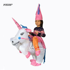 Inflatable Unicorn Costume Fancy Dresses for Kids Adult Blow Up Suit Party Gift