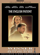 The English Patient (DVD, 2004, 2-Disc Set, Collector's Edition) NEW! SEALED!