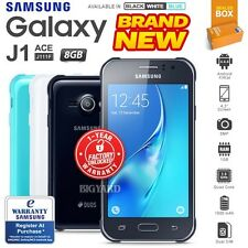 New Unlocked SAMSUNG Galaxy J1 Ace J111F Black White Blue Android Smartphone
