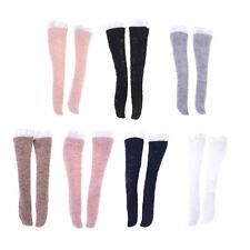 1 Pair Lace Socks Mixed Style Long Stockings For Barbie Doll Accessories P&T