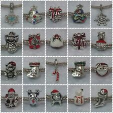 ~ Christmas Charms ~ FOR CHARM BRACELETS ~ 1.99 each ~ Organza Gift Bag ~