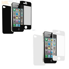 3X Multi-Color Front FULL BODY Back Clear Screen Protector film Apple iPhone 5