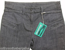 New Womens Marks & Spencer Black Bootcut Jeans Size 20 14 Long Medium