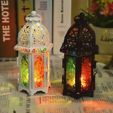 Jumanji vintage Candle Hollow Holder Metal Lantern Hanging Candlestick Tealight