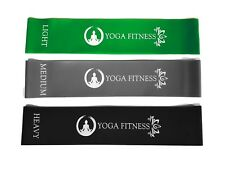 Resistance Exercise Loop Bands - Yoga, Pilates, Rehab, Crossfit Bands