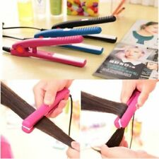 New Professional Portable Mini Hair Straightener Ceramic Flat Iron Styling Plate