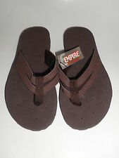 Mens Flip Flop Sandals Empire Brown Various Sizes NWT